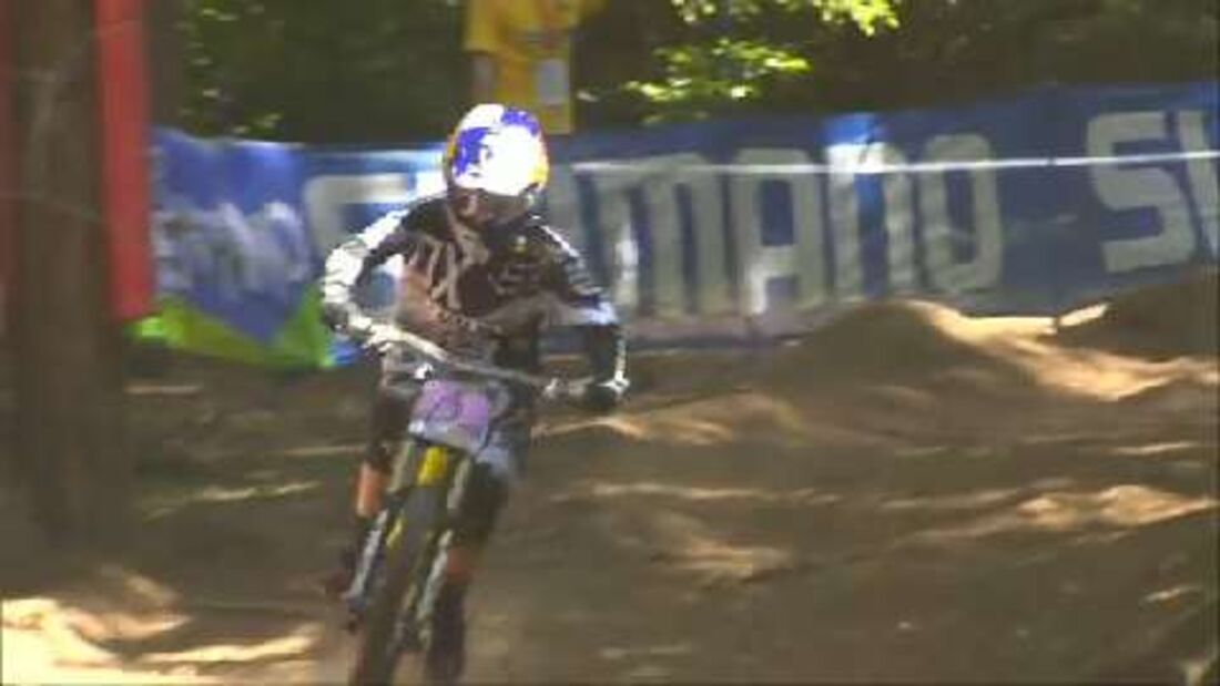 MTB-Weltcup Val di Sole: Downhill