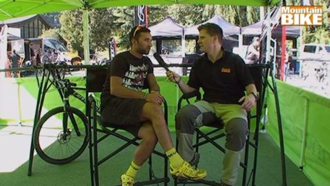 MountainBIKE Testival 2012 - Manuel Fumic im Interview