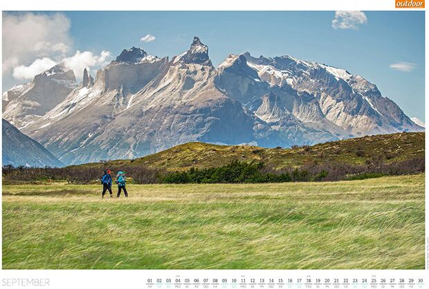 OD 2016 Kalender Best of Outdoor 2017 September